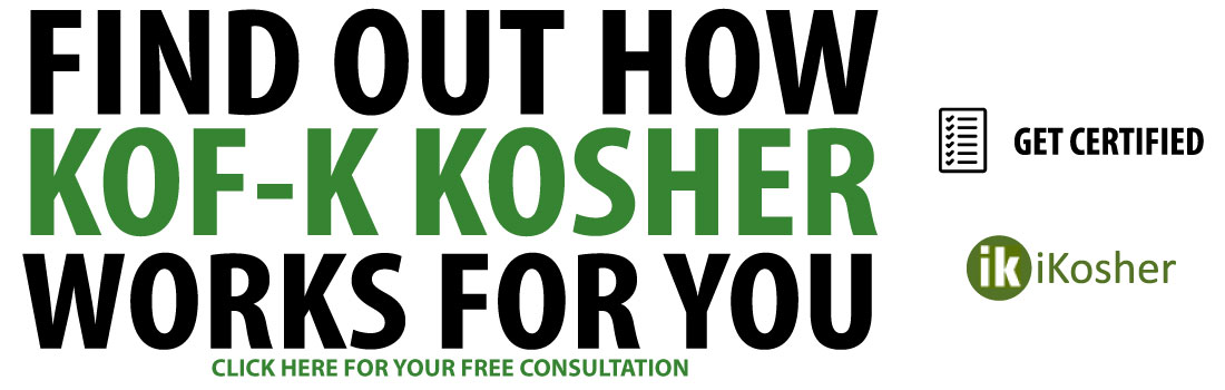 Find Out How Kof-K Kosher Works For You